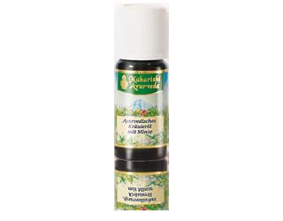 Ayurvedisches Kräuteröl mit Minze
