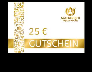 Geschenkgutschein im Wert von 25 Euro