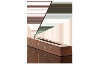 Räucherstäbchenhalter mit Vorratsbox