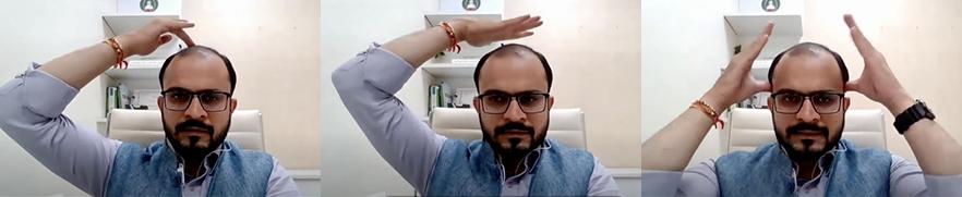 Ayurvedische Kopfmassage