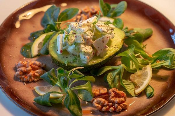 Avocado mit Füllung