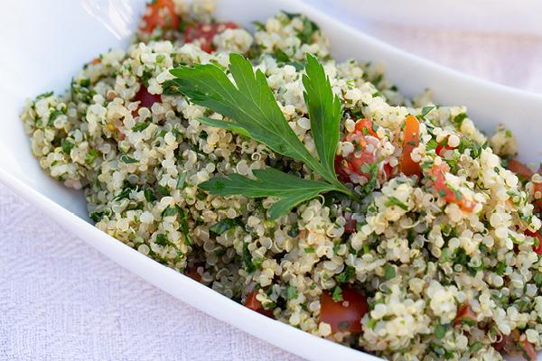 Quinoa Kräutertabouleh