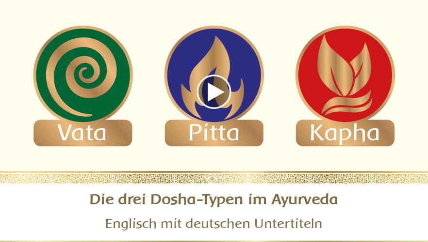 YouTube Webinar: Die drei Dosha-Typen im Ayurveda