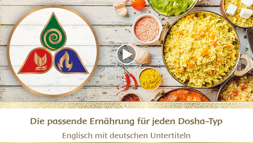 YouTube - Die passende Ernährung für jeden Dosha-Typ