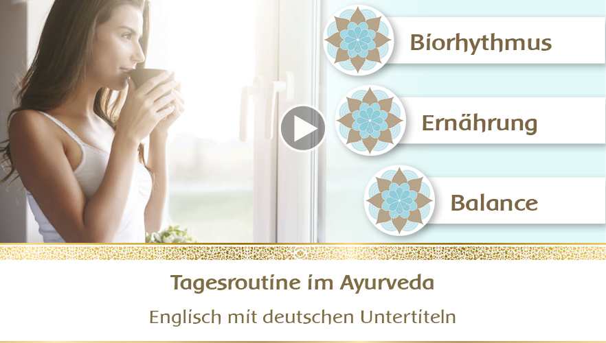 YouTube Webinar: Tagesroutine im Ayurveda