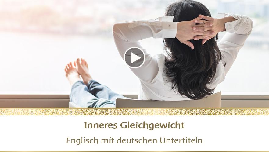 YouTube Webinar: Inneres Gleichgewicht
