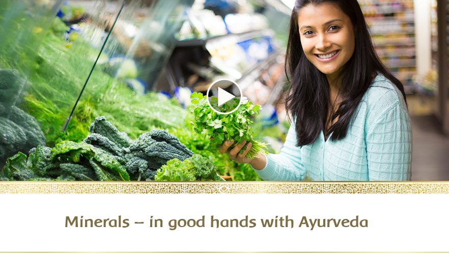 YouTube Webinar: Minerals - In good hands with Ayurveda