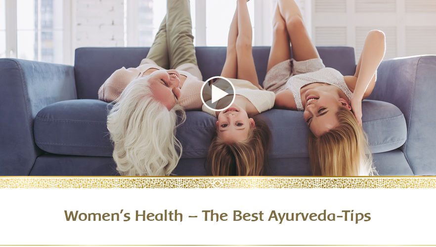 YouTube Webinar: Ayurveda for women – The best tips for all phases of life