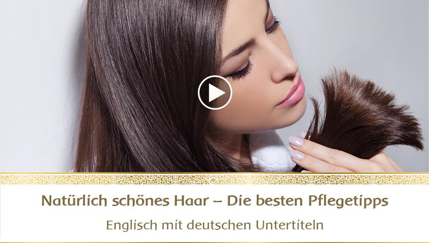 YouTube Webinar: Natürlich schönes Haar - die besten Pflegetipps für jeden Dosha-Typ