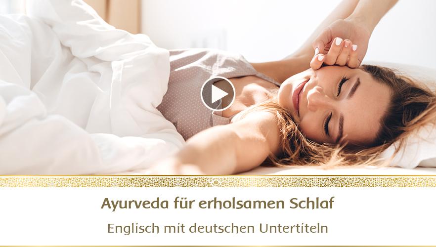 Webinar YouTube: Ayurveda für erholsamen Schlaf