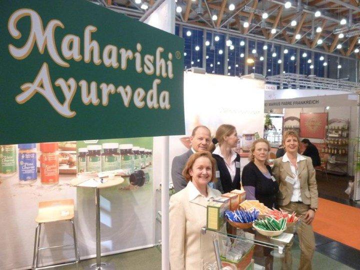 Maharishi Ayurveda Products B.V., Aussteller der ersten Jahre, präsentierte wieder eine große Produktpalette sowie die neue biozertifizierte Serie der Maharishi Ayurveda Einzelkräuter.