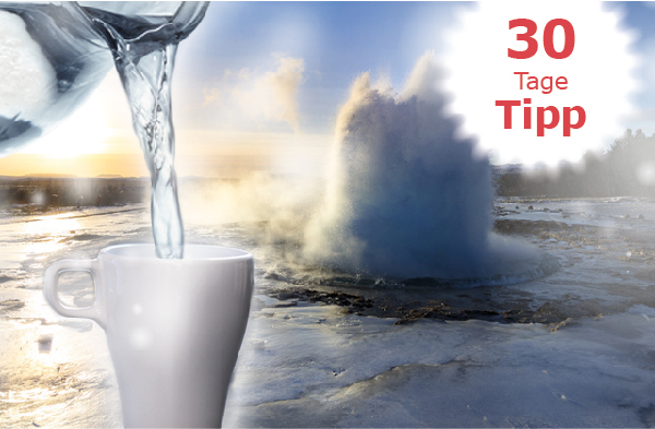 Heisswasser Tipp
