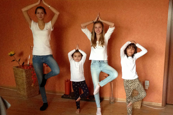 Balance exercises for children