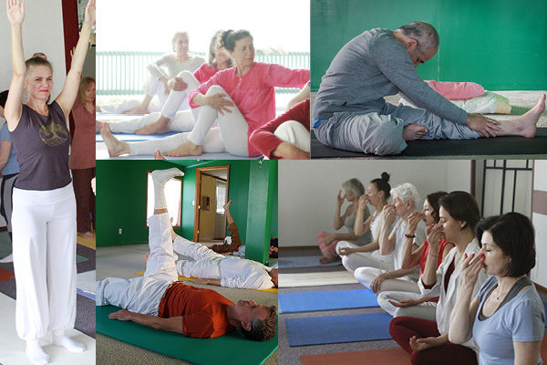 Yoga Kurs Übungen
